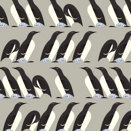 BIRCH FABRICS - Best of Charley Harper - Murre