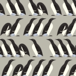 BIRCH FABRICS - Best of Charley Harper - Murre