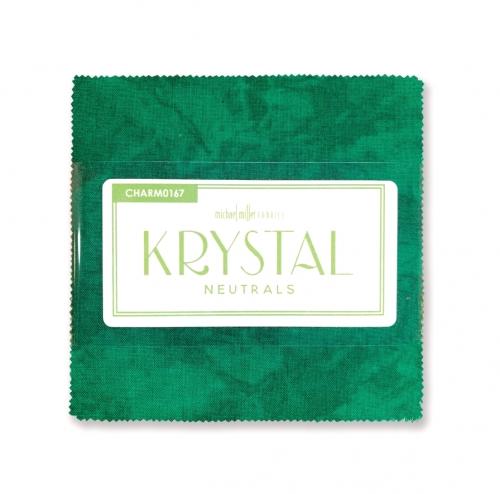 Michael Miller - Krystal Neutrals 5 Inch Charm  42pcs