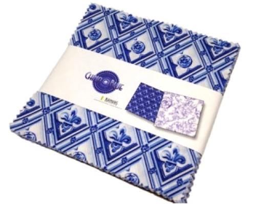 Benartex - China Blue 5x5 Pack