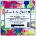 Kaufman - Painterly Petals 5 Inch Charm Squares 42 pcs