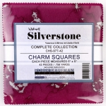 Kaufman - Wishwell: Silverstone 5 Inch Charm Squares 42 pcs
