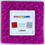 Benartex -  Color Theory 5x5 Pack 42 pcs