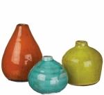 Sullivans Set of 3 Ceramic Vases