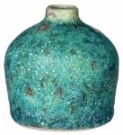 Sullivans Rustic Stone Ceramic Bottle Vase 4in