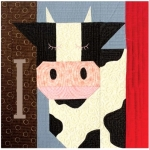 Bessy the Cow Block Kit - Fun on the Farm