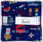 Maywood Studio - Red, White & Bloom 5 Inch Squares by KimberBell