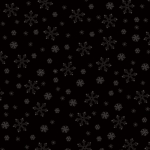 ANDOVER - Century Black on Black - Snowflakes