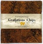 Northcott - Iron Ore Stonehenge Gradations 5x5 Chips by Linda Ludovico