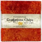 Northcott - Brights - Sunglow Stonehenge Gradations 5x5 Chips by Linda Ludovico