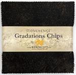 Northcott - Onyx Stonehenge Gradations 5x5 Chips by Linda Ludovico