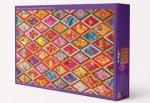 Puzzle - Kaffe Fassett Diamond Quilt Puzzle by C&T Publishing