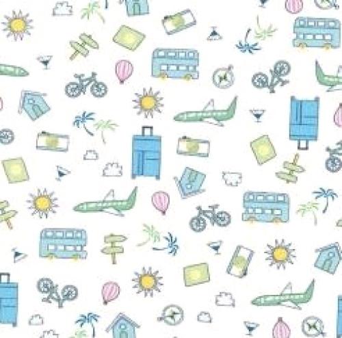 MICHAEL MILLER - Let's Go Places - Blue