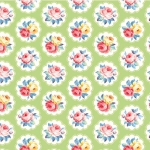 MICHAEL MILLER - Country Cottage Florals - Sunlit Days - Mint