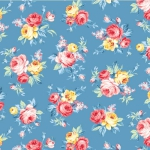 MICHAEL MILLER - Country Cottage Florals - Locally Grpwn - Blue