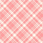 MICHAEL MILLER - Country Cottage Florals - Porch Plaid - Peach