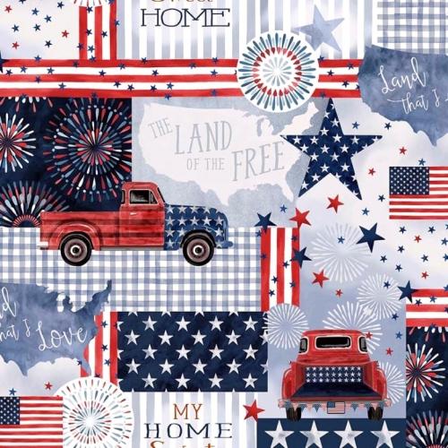 MICHAEL MILLER - Land That I Love - American Pride - Denim