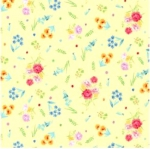 MICHAEL MILLER - Garden Party - Dainty Blooms Yellow - FB7596-