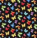 MICHAEL MILLER - Garden Party - Butterfly Free - Black - FB7546-