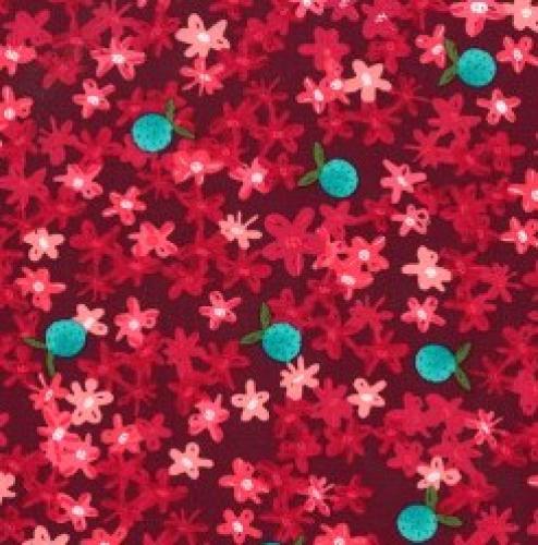 MICHAEL MILLER - Sunlit Blooms - Cranberry