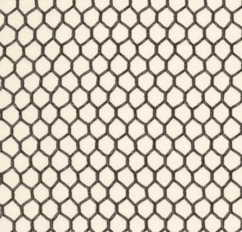 TIMELESS TREASURES - Geometric/Abstract Coordinates - Mini Chicken Wire - Cream