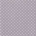 TIMELESS TREASURES - Dot - Grey - Flannel