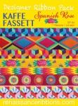 Kaffe Fassett Spanish Rose Designer Ribbon Pack
