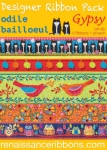 Odile Bailloeul Gypsy Designer Ribbon Pack