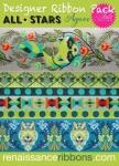 Tula Pink All Stars Agave Designer Ribbon Pack