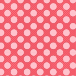 POPPIE COTTON - Dots and Posies - Dots on Dots - Blush