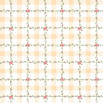 POPPIE COTTON - Dots and Posies - Criss Cross Applesauce - White