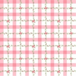 POPPIE COTTON - Dots and Posies - Criss Cross Applesauce - Pink
