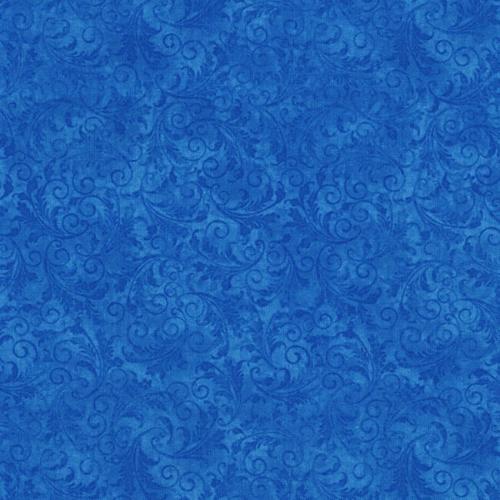 TIMELESS TREASURES - Echo - Tonal Filigree - Blue