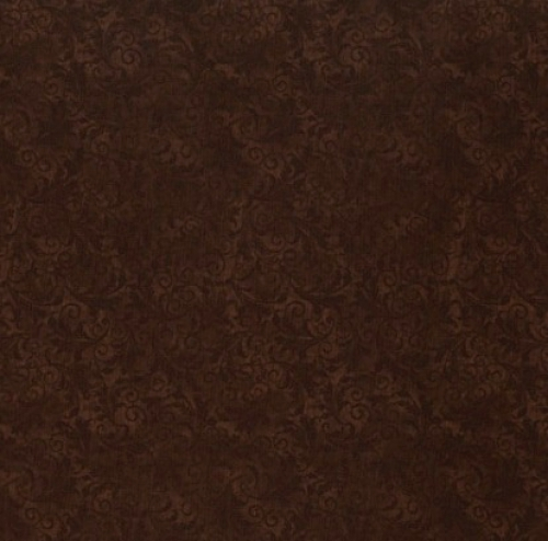 TIMELESS TREASURES - Echo - Tonal Filigree - Chocolate