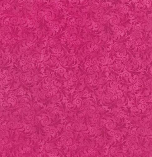 TIMELESS TREASURES - Echo - Tonal Filigree - Flamingo