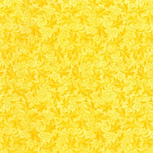 TIMELESS TREASURES - Echo - Tonal Filigree - Lemon