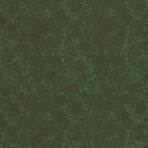 TIMELESS TREASURES - Echo - Tonal Filigree - Moss