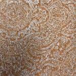 Eversewn - Paisley Cork Blend Fabric 51x19