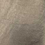 Eversewn - Metallic Grey Faux Leather Fabric 54x19