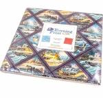 Benartex - Evening Frost 10x10 Pack 42 pcs