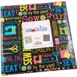 Benartex - Sew Excited 10x10 Pack 42 pcs