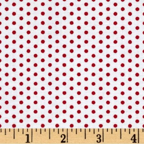 KAUFMAN - Spot On - Strawberry