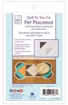 Dog - Pet Placemat Quilt As You Go by June Tailor