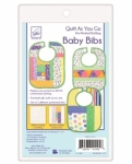 Baby Bibs 3 Pack Quilt As You Go by June Tailor