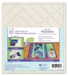 Venice Quilt As You Go Placemats by June Tailor