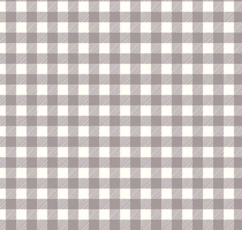 RILEY BLAKE - Buffalo Check Flannel In Color - Gray