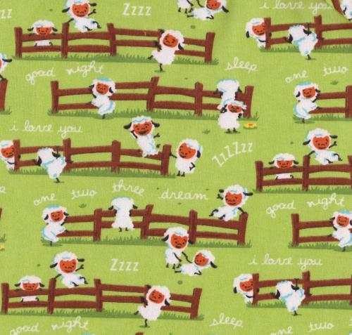 RILEY BLAKE - Harmony Farm - Sheep Green - FLANNEL