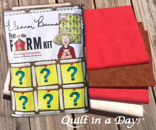 Eleanor Burns - Fun on the Farm Finishing Kit Facebook Block Party