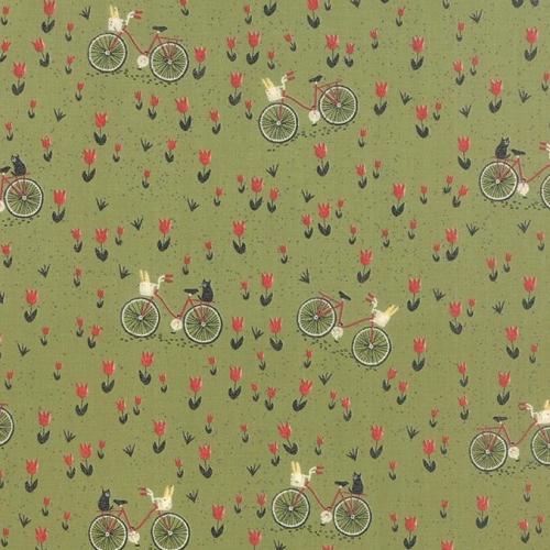 MODA FABRICS - Mon Ami Bicyclette - 30413-15
