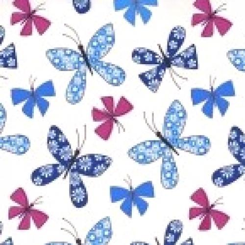MICHAEL MILLER - Chasing Butterflies - CX7314-BLUE-D